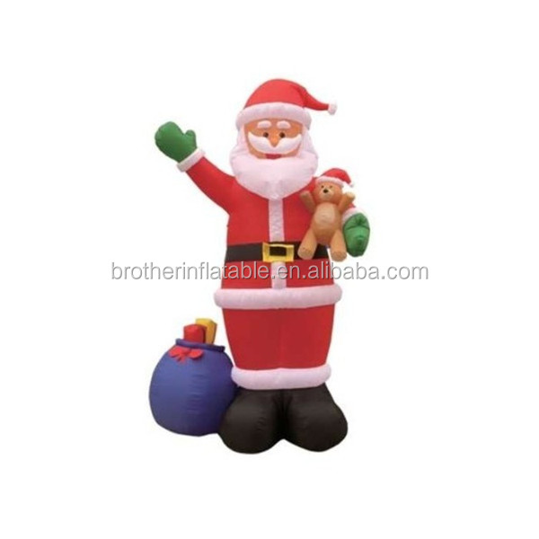high quality chrismas santa clause,inflatable giant santa claus,inflatable sleeping santa claus