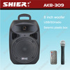 New design wireless karaoke system speaker box