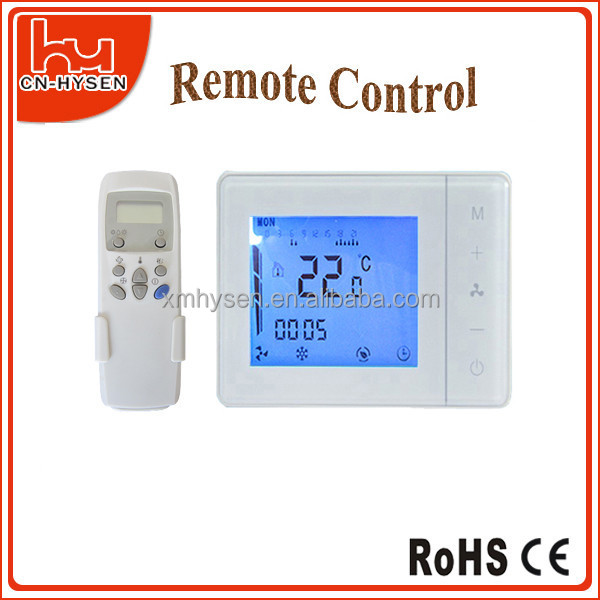5+2 days programming digital room thermostat remote controller