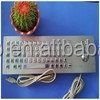 Neues design folientastatur/metall-tastatur mit trackball