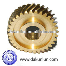 Precision brass spur gear for small machings