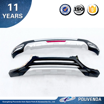 ABS front&rear bumper guard for 2016 honda hrv