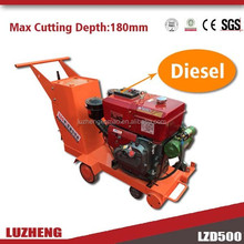 efficient 180-400MM electric/gasoline walk behind concrete saw machine for sale
