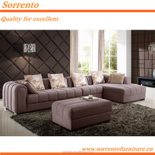 582A# Senior Dubai Purple Fabric Sofa Furniture