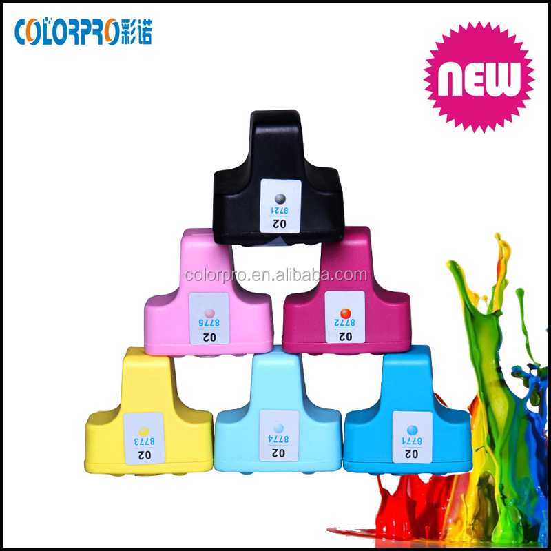for HP C5150 C5180 C5140 C6150 C6180 printer ink cartridge for hp02 for hp 02 cartridges