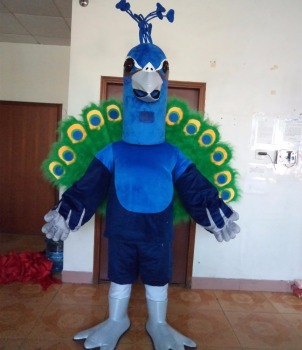 new peacock mascot costume/animal costume for sale