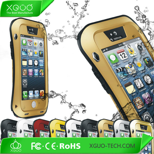 heavy duty antishocking for iphone5 waterproof case