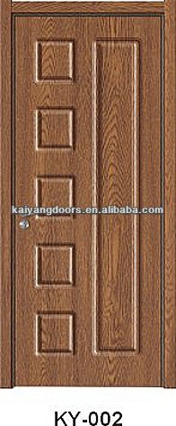 Ukraine PVC mdf wooden <strong>panel</strong> design <strong>door</strong>