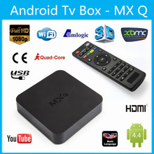 ott tv box mxq quad core amlogic s805 xbmc/kodi preinstalled Support 2.4GHz wireless mouse and keyboard via 2.4GHz USB dongle