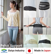 Adjustable Elastic Band for exercise fitness sports, Comfortable Flat, Made in Japan