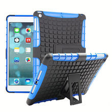 Heavy Duty Hybrid Rugged Case Cover for iPad Air iPad 5,Shockproof With Stand Case Cover for iPad Air