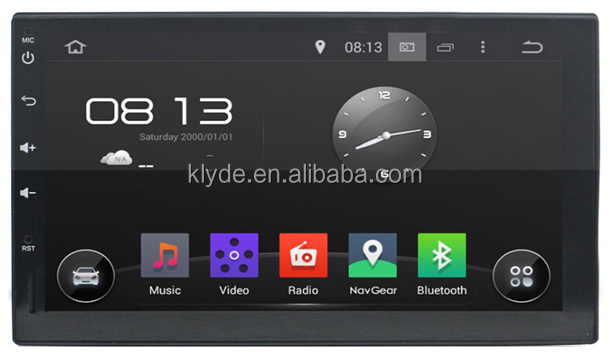2DIN Universal Android 5.1.1 OEM Car multimedia DVD player full touch screen