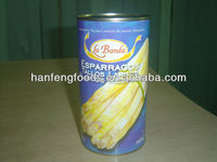 canned white asparagus 800g spear