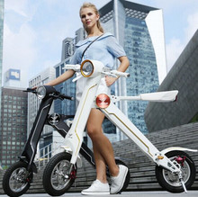 New model one year warranty small wheel folding electric bicycle
