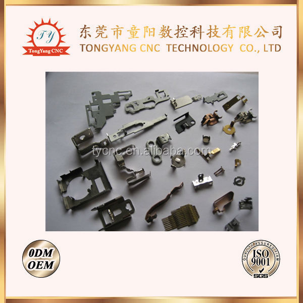 Metal stamping stamped punching punched parts for electrical appliances