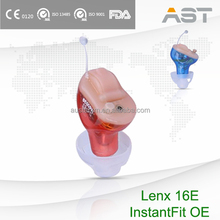 Reliable Hearing Aids CIC for sensitive ear canals