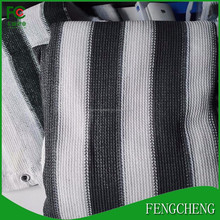 Customized printed privacy screen HDPE fence shade cloth /balcony screen plastic garden fence