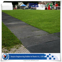 protect sensitive areas mat/composite ground cover mats/temporary rugged mats