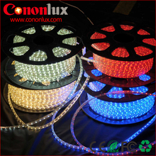 CE ROHS Waterproof led light strip light 220v RGB for Outdoor Use 50m/roll 100m/roll warm white/white/pink/blue