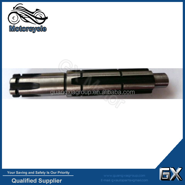 Motorcycle Counter Shaft BIZ 100 Secondary Shaft Gear Shaft