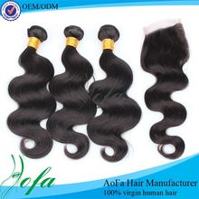 Wholesale price loose wave wet & wavy human hair human hairgrade 100% unprocessed virgin brazilian hair