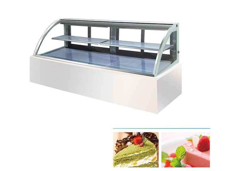 Hot sale commercial bakery cake showcase display fridge bread cabinet