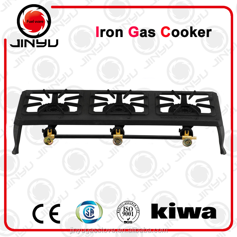 outdoor big fire fast iron gas stove portable cast iron LPG gas cooker BBQ iron gas burner