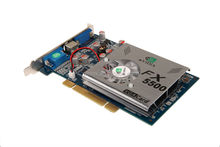 NVIDIA GEFORCE FX5500 256M AGP Video card WITH S- Video DVI VGA