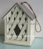 unique vintage small wood pet birds houses