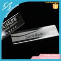 Vograce Custom Shining Rectangle Stainless Steel Name Plate