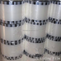 Hot Factory Price Cups Sealing Plastic Roll Protective Food Packaging PE Liding Film