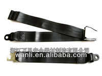 A016 Boeing airplane static 2point safety seat belt,2point standard airplane seat belts