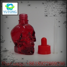 Alibaba express african lace fabric matt black 60ml skull glass bottle bottles with child proof dropper quality 3d printer sla