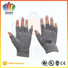 FT FASHION Cheap Acrylic Kintted Glove,Half Fingers,Write Glove