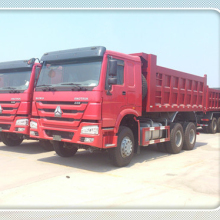 SINOTRUK Sand Tipper Truck Low Price Sale In Djibouti