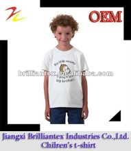 2012 hottest summer single jersey short sleeve lovely monkey and letters printing kids children boy cotton t shirt