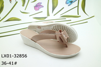 new style summer fancy soft pvc beach flip flop for girls