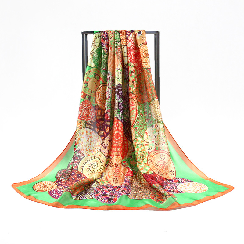 Brand Chiffon Beach Wrap Silk Scarf 175*90cm Scarves For Women big Shawl Cachecol Desigual foulard PP662CL Free Shipping