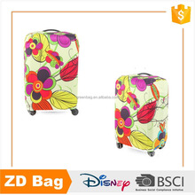 Colorful trolley bag cover, suitcase protection cover