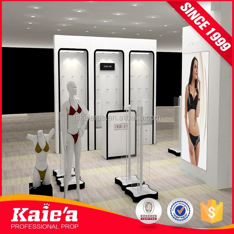 Trend product perfect women underwear shop interior design