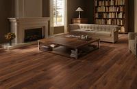 FSC approved Black Walnut Solid Veneer Waterproof engineered Wood Flooring