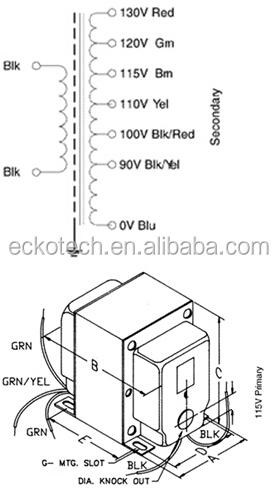 220v power transformer for ac converter  view power