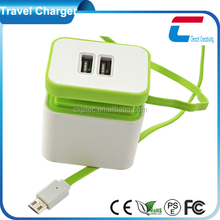 Shenzhen CXJ Top Battery wall charger EU plug travel adapter
