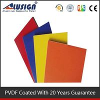 Alusign keep quiet decorative acp materials copper clad aluminum plate