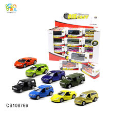 China Products licensed 1:64 scale diecast pull back alloy mini car