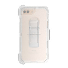 clear transparent holster blet clip case for iphone 7 plus rugged robust holster