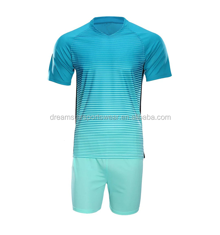 Thai Quality Youth Soccer Jersey Hot Club Football Uniform