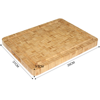 Hot Sale China Wholesale Excellent Bamboo Custom Butcher Block Chopping Board