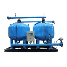 Industrial Sand Water Filter Machine For Water Treatment Plant