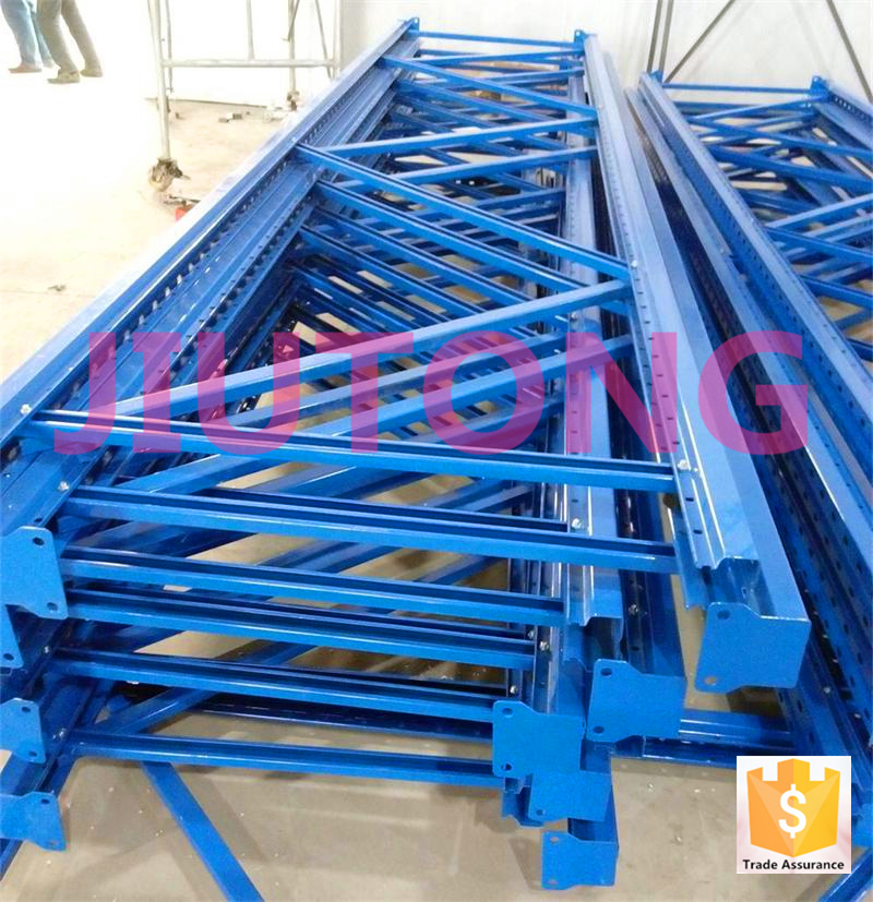 Galvanzied selective pallet racking for sale 2017 warehouse storage rack